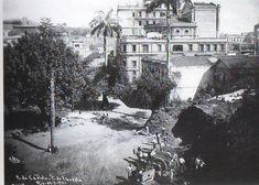 Chácara da Floresta, Morro do Castelo. Centro, Rio de Janeiro, 1921.