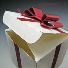 """No Peeking! boxes are glued shut keeping your gift a secret until they're allowed to """"let 'er rip!"""" along perforations."""