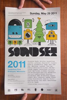 Soundset 2011 Poster by Adam R. Garcia