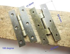 2 Pcs 63.5mm X 30.5mm metal hinges parliament hinges jewelry box hinges decorative hinges VH0076 by LittleHardware on Etsy