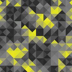 Quadro - Triângulos Cinza - Decohouse