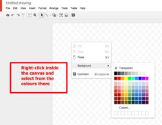 This Is How to Create A Simple Educational Poster Using Google Drawings ~ Educational Technology and Mobile Learning