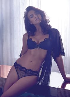 Irina Shayk is a Lingerie Stunner for Twin Sets Fall 2014 Campaign