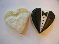 initial cookies wedding | Wedding - a gallery on Flickr