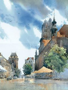 By Michal Suffczynski, from Poland - watercolor -