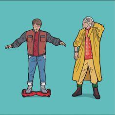 """El ilustrador británico Tom Ward combinó en una serie su pasión por los personajes más icónicos del cine de la década de los 80 y sus habilidades gráficas. El proyecto lleva por nombre """"Eighties reloaded""""; en él E.T, Marty McFly, los Thundercats, entre varios personajes, fueron actualizados con dispositivos y situaciones actuales. Sobre estas líneas pueden ser algunas de las ilustraciones de Ward, el resto de """"Eighties reloaded"""", pueden verlo en su cuenta de Instagram…"""
