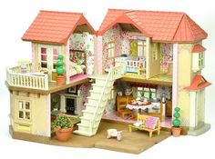 Sylvanian Families Decorated Willow Hall Bundle Lots Of Furniture Extras Sylvanian Families House, Sylvania Families, Unicorn Bedroom, Doll Furniture, Miniature Dolls, Cool Toys, Holiday Fun, Making Ideas, Kids Toys