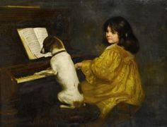 The Duet ~ Mariquita Jenny Moberly ~  (English, 1855 - 1937)