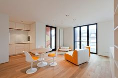 Luxembourg Apartment by Metaform Atelier D'architecture