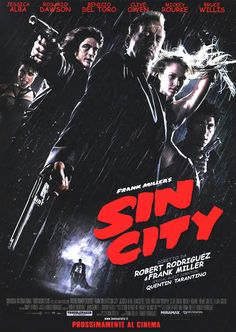"Sin City. A awesome ""cartoon""for adults!"