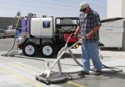 Pressure Surface Cleaning