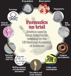 In Australia, increasing concerns are raised about ''junk science'' appearing before the courts: unreliable expert evidence leading to contaminated criminal trials. Source: National Academy of Sciences: Strengthening Forensic Science in the United States