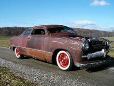 Rockabilly garage | Rockabilly garage: Ford 1950 rat rod