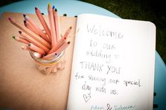 guest book idea, (photo credit: Brook Whitney Photographs)