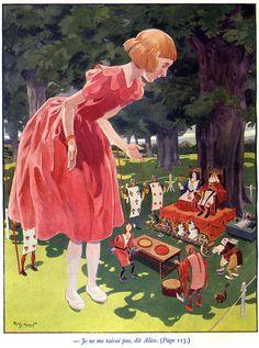 Alice Illustration by Henry Morin 1939
