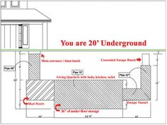 Atlas Survival Shelters is a company that builds luxury underground homes for those who can afford it. When you actually see the inside, you won't believe how comfortable underground living could be. Let's take a peek, shall we? Urban Survival, Survival Knife, Survival Prepping, Survival Gear, Survival Skills, Survival Hacks, Emergency Preparedness, Doomsday Survival, Survival Clothing