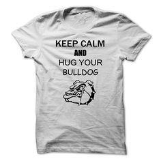 Do you love your bulldog?  Do bulldogs make you calm? Especially when you get to snuggle them? Then this shirt is for you!  This shirt is for all.