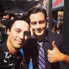 Richard and Jonathan are so cute! We love this selfie they took at the Teen Choice Awards! | ABC Family | Chasing Life | Young & Hungry