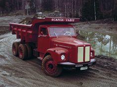Scania-Vabis DLT75-38 Meiller Hinterkipper '1960