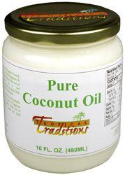 Photo of Pure Coconut Oil 16 oz.