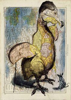 Atlas Art by Fernando Vicente Art Carte, Atlas, Art Graphique, Illustration Sketches, Creative Words, Map Art, Oeuvre D'art, Impressionist, Geography