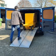 This Low Profile version was built to carry tools into a van for transportation to each work site. Electric Utility, Electric Motor, Truck Boxes, Work Site, Chain Drive, Workplace, Pugs, Transportation, Deck