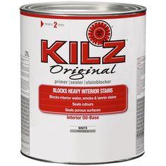 As for Kilz vs. Zinnser, Kilz oil ruled way back before Zinnser BIN came on the scene big time. Nowadays its no contest, Zinnser rulez.
