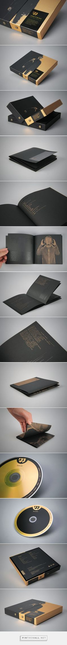 Khalil Fong's Journey To The West album design by Chen-Huang Chian - http://www.packagingoftheworld.com/2016/10/khalil-fong-journey-to-west.html
