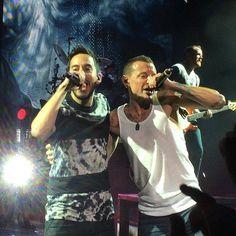 Linkin Park  ( Mike et Chester )