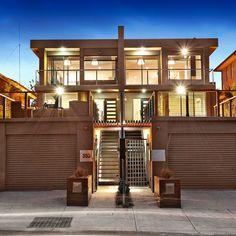flat roof fourplex - Google Search