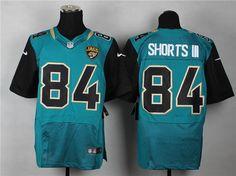 Jacksonville Jaguars #84 Cecil Shorts III Teal-Black Alternate NFL Elite Jersey
