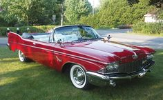 218: 1960 Chrysler Imperial Crown Convertible