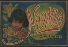 Indonesian Old Commercials:Nag Mic Face Powder 1950