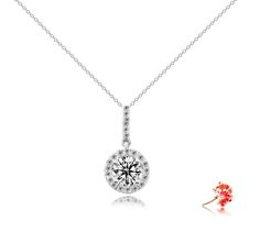 Diamond pendant setting scintillating with 23 round brilliant #diamonds 0.14 carat in 18k gold.  Can be crafted to set individual centre diamond carat size 0.30 to 3ct, white, rose, yellow, platinum (PCX11)  http://www.eclarity.com.sg/index.phpCategoryId=8&ViewAll=1&from=