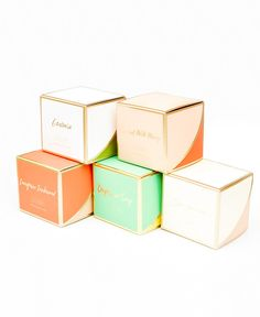 Golden Ratios Boxed Candle