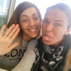 #CostantinoVitagliano Costantino Vitagliano: Le mie #donne hahahaha ❤️ #amore #sorella #love #truelove #sister #friend #bestfriend #selfie #autoscatto #milanomarittima
