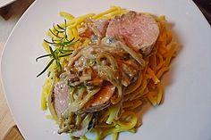 Überbackenes Schweinefilet mit Senfsahnekruste (Rezept mit Bild) | Chefkoch.de