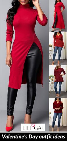 Find best valentines day clothes and valentines day fashion. Find best valentines day clothes and valentines day fashion. Cute Valentines Day Outfits for wo Valentine Outfits For Women, Cute Valentines Day Outfits, Pretty Outfits, Cool Outfits, Casual Outfits, Girl Fashion, Fashion Outfits, Womens Fashion, Womens Trendy Tops
