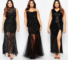 Cheap High Fashion Women S Clothing Plus Size Fashion Blog, Curvy Fashion, Fashion Women, High Fashion, Types Of Gowns, New Years Eve Dresses, Curvy Dress, Curvy Outfits, Fashion 2018