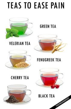 TEAS TO EASE ANY KIND OF PAIN
