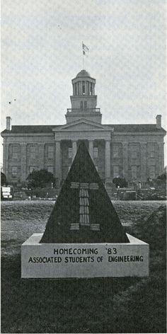 1983 corn monument from 1983 Iowa Engineer, p.6