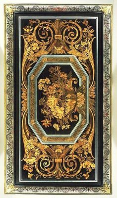 Luxury Collection and Eclectic, Classy Photography - Antique Louis XV Table Top By André-Charles Boulle marguetry inlaid French Furniture, Antique Furniture, Furniture Design, Antiques Value, Classy Photography, Parquetry, Baroque Architecture, Art Decor, Home Decor