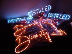 """LED neon """"Diversity""""  custom sign Custom Neon Signs, Led Neon Signs, Home Signs, Diversity, Wedding Signs, Wedding Plaques, Wedding Tags, Wedding Signage"""