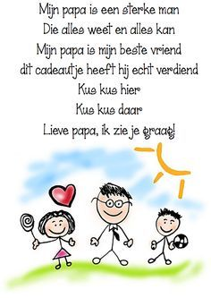 Dutch Words, Daddy Day, Love You Dad, Cartoon People, Mamas And Papas, Infant Activities, Creative Kids, School Teacher, Happy Mothers