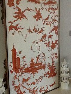 Chinoiserie Chic: framed panels