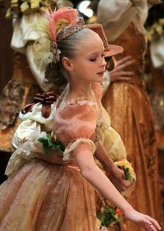 A Bolshoi Ballet Academy student in The Sleeping Beauty at the Bolshoi Theatre
