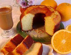 Gourmet Israel: Biscochuelo Israelí de Naranjas
