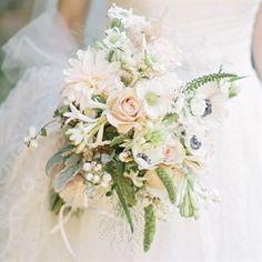 Rustic Pastel Bridal Bouquet