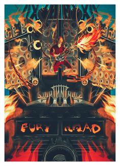 Mad Max: Fury Road Poster - Lazare Gvimradze