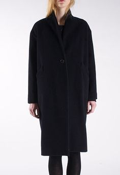 Gather and See Maud Wool Coat | Italian recycled wool | Small-scale production | Organic cotton lining